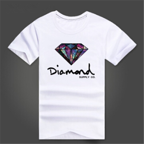 mens tees diamond supply co men t shirts brand hip hop t-shirt men casual short tshirt summer clothes(China (Mainland))