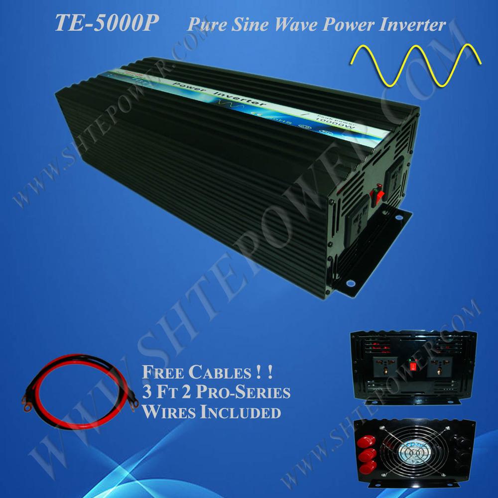 5000W Pure Sine Wave Solar power inverter dc 24v ac 240v 5KW Solar Inverter(China (Mainland))