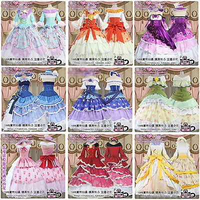 Love Live Kousaka Minami Tojo Maki Nico Eli All Members Hallowmas Uniform Cosplay Anime Costume Lolita Palace DressОдежда и ак�е��уары<br><br><br>Aliexpress