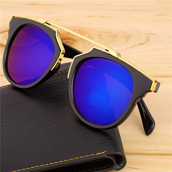 8d579567ea1 Super Star Fashion Sunglass New Cat Eye Coating Sunglasses Women ...