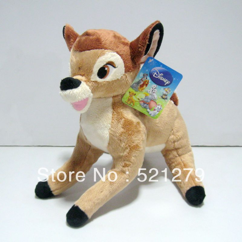 Free Shipping 1pcs 9.8inch Lovely cartoon little deer bambi plush stuffed dolls for kids,Bambi plush toys<br><br>Aliexpress
