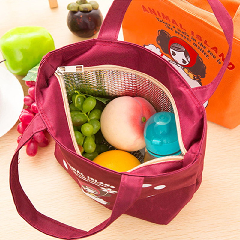 2016 New portable multifunctional insulation package food lunch fresh Small aluminum foil cool cooler bags women's handbag(China (Mainland))