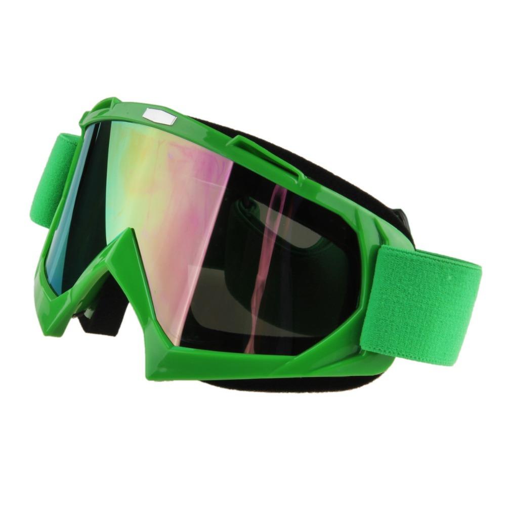 1pcs Feminino Masculino Couple Snowboard Snow Ski Goggles Green Frame Reflective Lens Winter Mountaineering Sports Gafas Eyeware(China (Mainland))