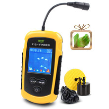 Free Shipping!Hot Sale Alarm 100M Portable Sonar LCD Fish Finders Fishing lure Echo Sounder Fishing Finder FFC1108-1(China (Mainland))