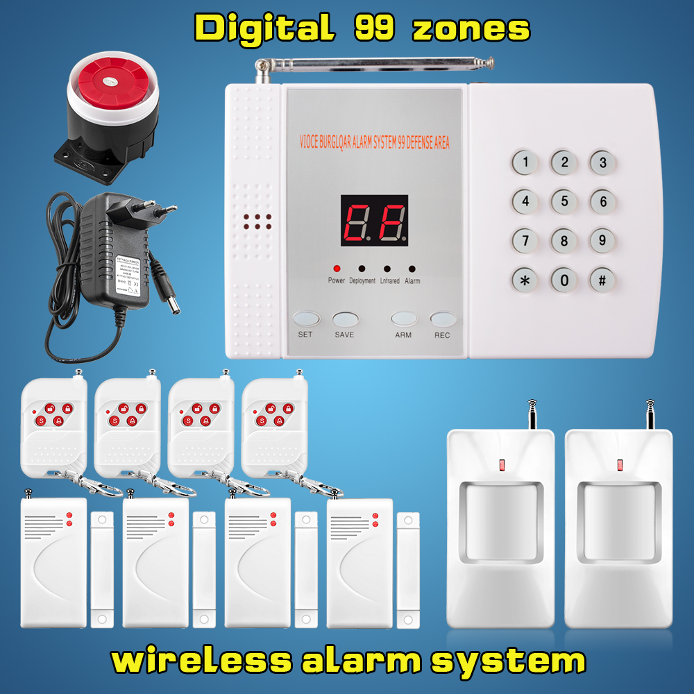Buy free shipping 99zones digital home for Buy house alarm system