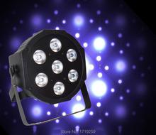 Buy 8pcs/lot 2016 7x 12W RGBW DMX Stage Lights Business Led Flat Par High Power Light Professional Party KTV Disco DJ for $196.00 in AliExpress store