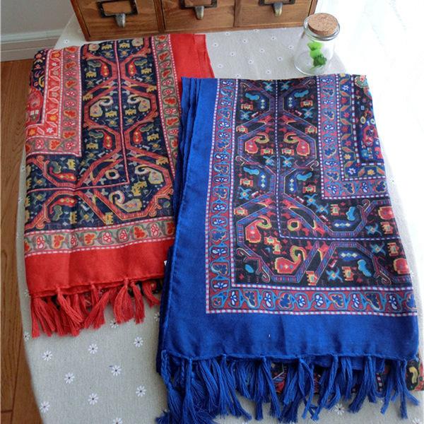 Кешью проводят осенью и зимой внешней торговли чешские бахромой шарфы хлопка негабаритных белье шелковый платок шарфы оптовая продажа
