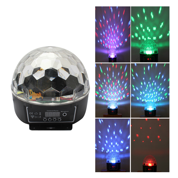 DU#Crystal Magic Ball Effect Disco Stage LED Lighting DMX Control Panel for Party Free Shipping(China (Mainland))