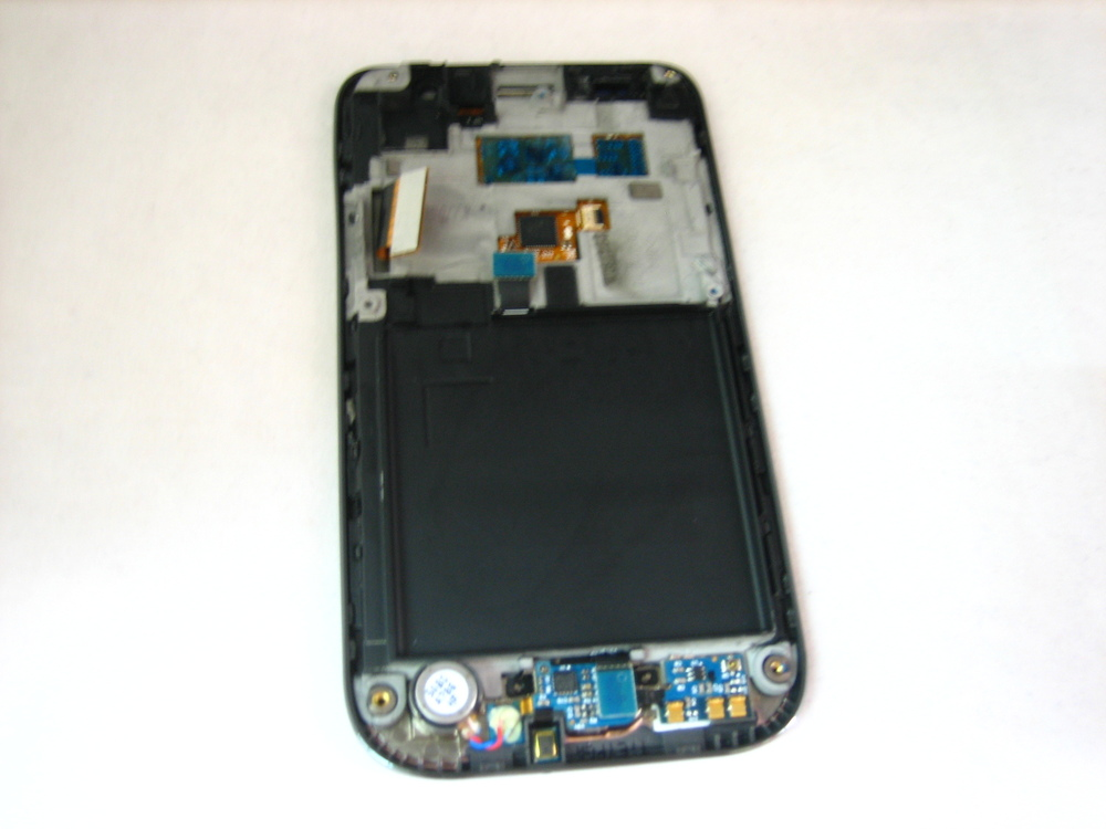 Replacement Full AMOLED LCD Display+Touch Screen Digitizer+Frame for Samsung Galaxy S GT i9000 i9001 Black(Hong Kong)