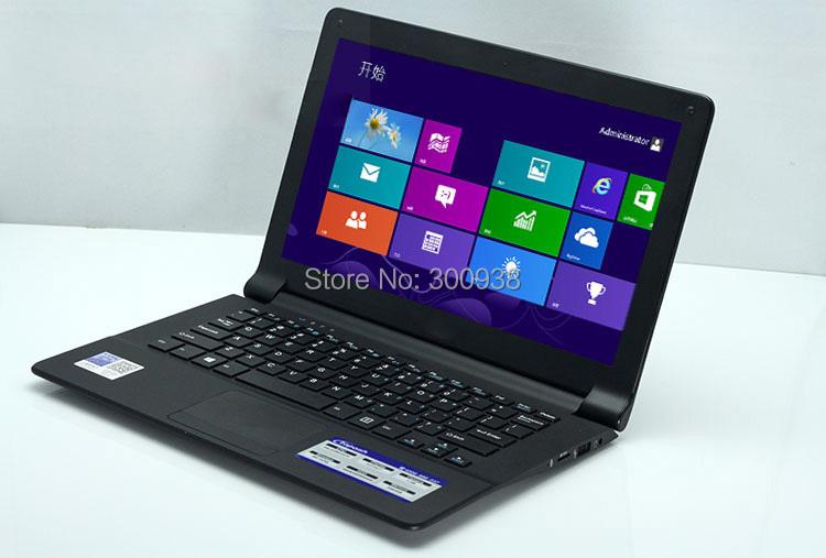 """11.6"""" ultrabook Quad Core laptop computer 4G RAM 64G SSD Intel N2930 1.83ghz bluetooth webcam WiFi HDMI Windows 8.1 5500 battery(Hong Kong)"""