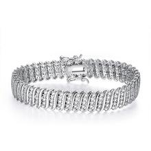 2016 new 925 sterling silver font b bracelet b font font b men s b font