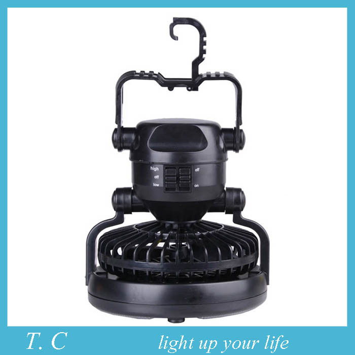 18 LED fan tent light Camping lamp Camping lamp Multi-functional tent light outdoor sports equipment necessary free shipping(China (Mainland))