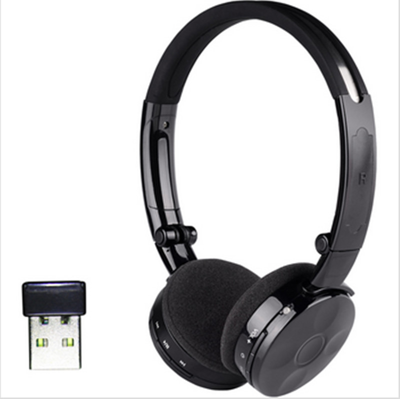 DA601 2.4G lossless Digital Wireless Headphone with Built-in Mic  for windows 2000/XP/Vista/Win 7.0 remote two-way chat for PC<br><br>Aliexpress
