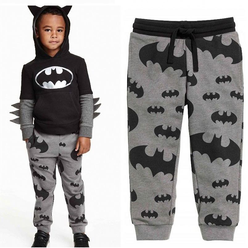 Batman Kids Boy Girl Harem Pants Trousers Slacks Bottoms Clothes For 3-7Y<br><br>Aliexpress