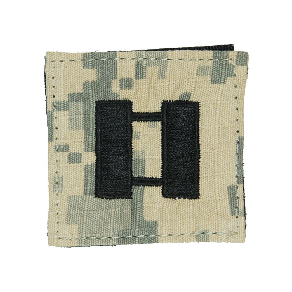 Captain Rank in Chinese us Acu Rank 0-3 Captain Velcro