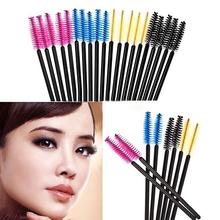 50Pcs Disposable Cosmetic Eyelash Brush Makeup Tool Mascara Wands Applicato Chic Design