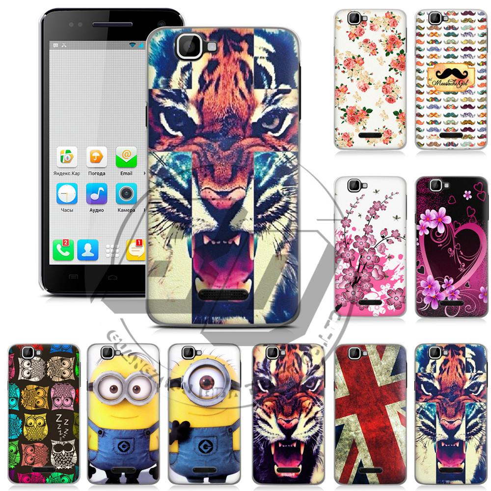 For Explay Fresh 1 Pcs ! High Quality Hard Butterfly Flower Design Cell Phone Cases Back Cover Mobile Phones Case(China (Mainland))