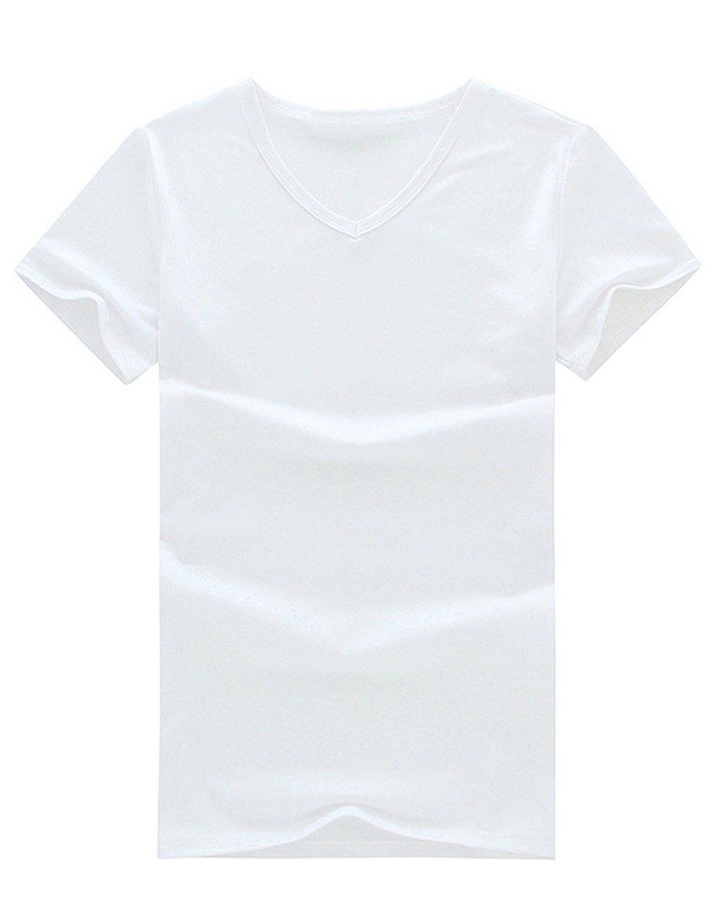 2016 Summer New Men's Tops Tees Cotton V Neck Short Sleeve t shirt Men Fashion Fitness tshirt  M-3XL  NTX01