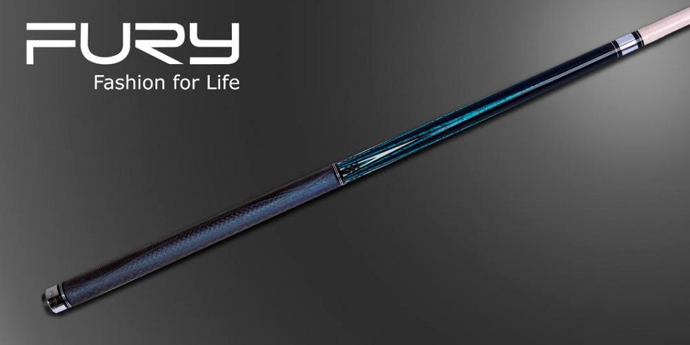 Fury Pool Cue Model AG-105 /11.75mm &12.75mm tip (optional)/10-PCS Laminated Shaft/EXII technology shaft(China (Mainland))