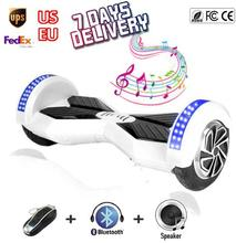quality 8 inch Hoverboard Skateboard Bluetooth Smart balance Wheels Hover Board Electric Self balancing Scooter 2 wheels ul - Cute Technology CO LTD store