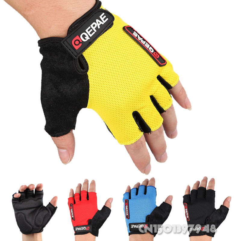 GZDL Guantes Ciclismo Breathable Outdoor Bicycle MTB BMX Road Bike Antiskid Short Half Finger Cycling Gloves Gel MTB9006(China (Mainland))
