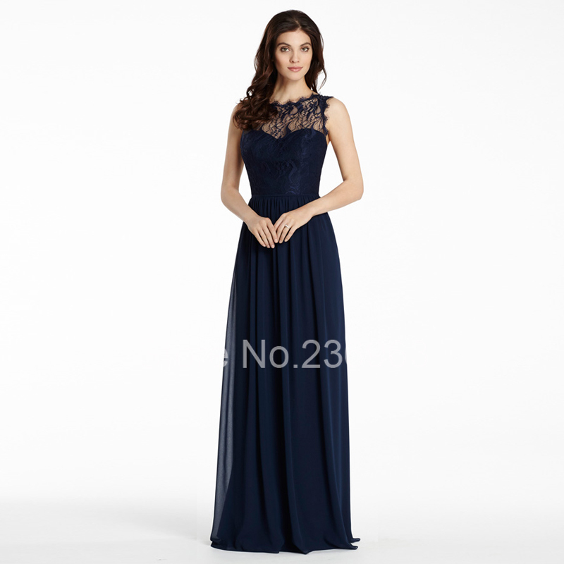 robes de mode robe longue en lin bleu marine. Black Bedroom Furniture Sets. Home Design Ideas