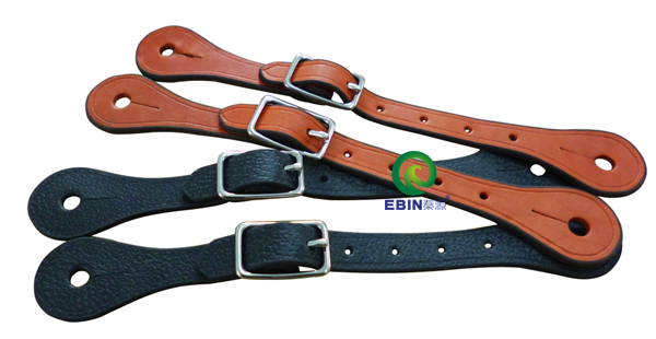 western leather horse spur strap,free shipping ,stainless steel buckle. (RAC7107)