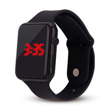 Relógio a 'mens watcheserkek kol saati relógio montre homme Relógio Inteligente Homens Anel Da Mão Relógios eletrônicos Led Relógio Esportivo(China)