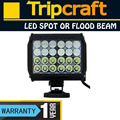 72w led light bars off road lights 4 row led light bar led emergency light strip