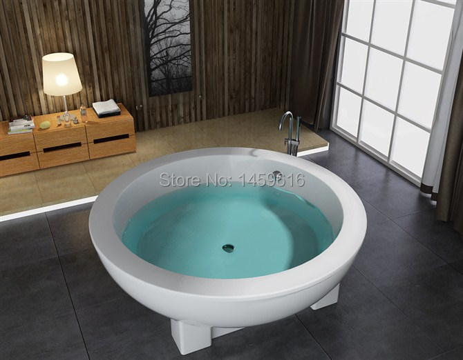 Online get cheap round soaking tubs for Cheap free standing tubs