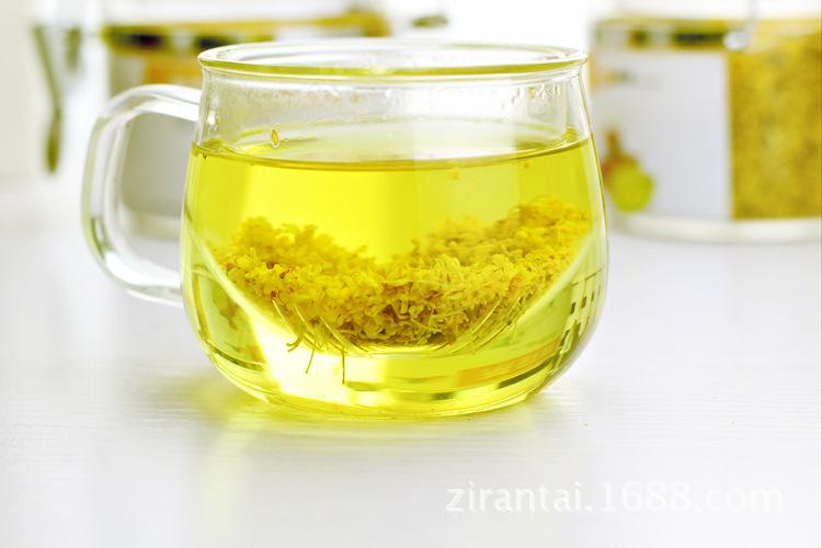 Um guo Fresh golden osmanthus chá osmanthus fragrância diretamente embebido em água de 260 yuan por quilo de farinha para o frete OEM