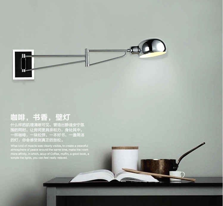 swing modern wall ls led wall sconce bedside wall