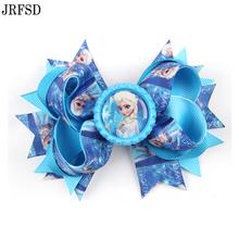 Buy JRFSD 10 Colors Hair Clip Headband Princess Elsa Anna Ribbon Alligator Kids Hair Bands Hair Accessories H020 for $1.07 in AliExpress store