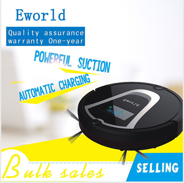 Eworld Dry Function And Robot Installation Robot Vacuum Cleaner M884 With Automatic Recharge Robot Fregasuelos For Floor Clean(China (Mainland))