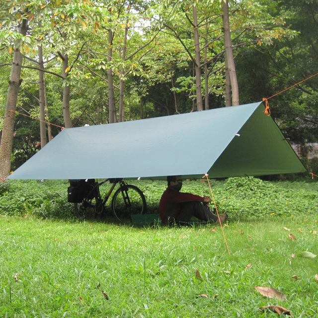 Silver Coating Anti UV Ultralight Shelter Tarp