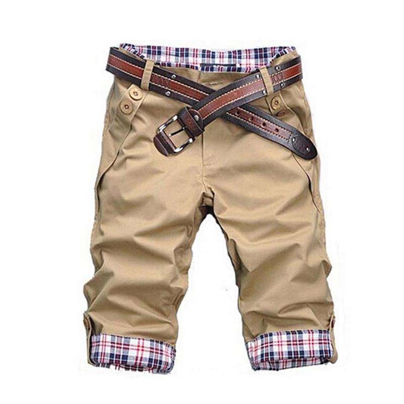 Summer Shorts Men 2015 Hot sale Men Short Pants Plaid Board shorts Men's Beach Splicing Short Trousers Bermuda Masculina Q159(China (Mainland))