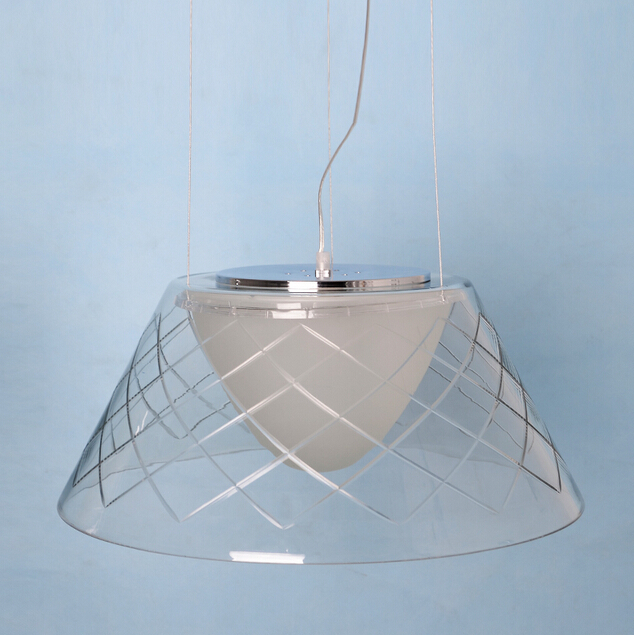 Buy D500mm American Modern Glass Pendant Light Fixtures With