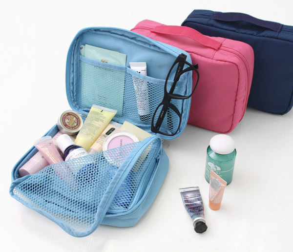 Travel Cosmetic Make Up Toiletry Holder Beauty Wash Organizer Storage Bag Purse(China (Mainland))