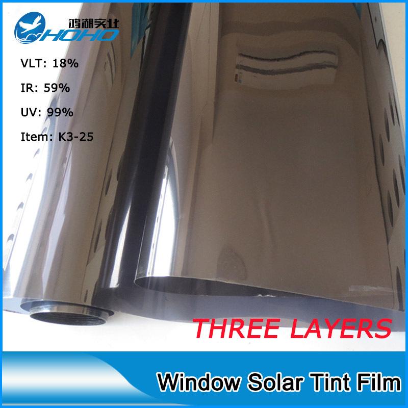"Hoho Korea car solar sticker window film,black window tinting film20""*118""(China (Mainland))"