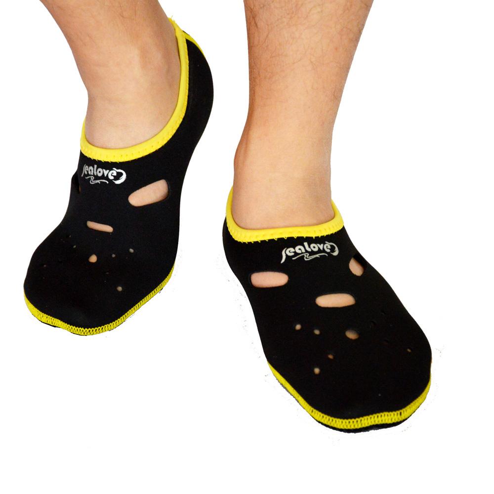 3MM Neoprene Short Beach Socks Non-slip Antiskid Scuba Dive Boots Snorkeling Sock In Fins Flippers Wetsuit Seaside Home Shoes(China (Mainland))