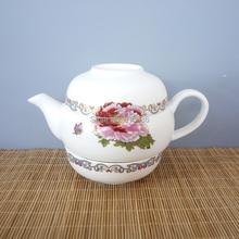 New Arrival Ceramic Tea Pot and Cup Traditional Chinese Teapot Set  Bone China Teapot Travel Teaset