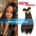Brazilian Virgin Hair Straight 4 Bundles Human Hair Extensions Virgin Hair Straight Brazilian Straight Hair Bundles