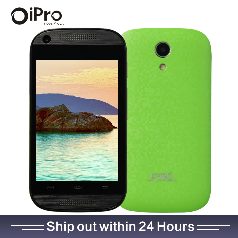 Ipro Original 3.5 Inch LCD Screen Android 4.4 Smartphone MTK6571 Dual SIM Celular Mobile Phone Dual Core WCDMA Cell Phones Mini(China (Mainland))