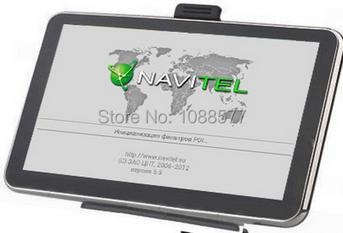 free shipping 5 inch Car GPS Navigator CPUMTK800 FM 4GB 3DMAP DDR 128M English Russian Hebrew Portuguese Czech and Spain(China (Mainland))