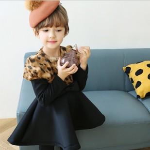 New winter dress Thickening of keep warm princess dress of the girls(China (Mainland))