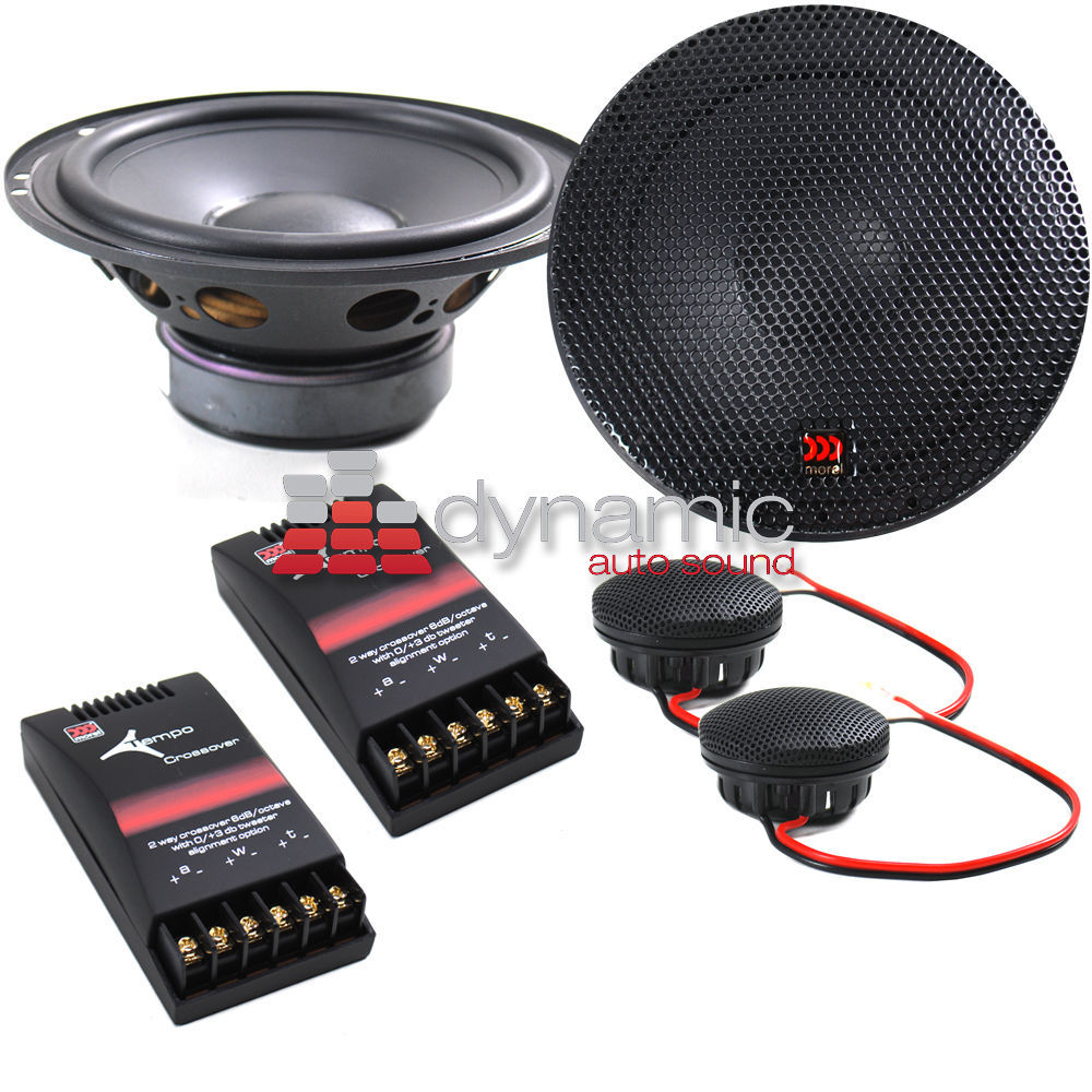 MOREL DHL 6 6.5 280W 2/tempo6 morel classic advanced woofer caw 538 1 шт