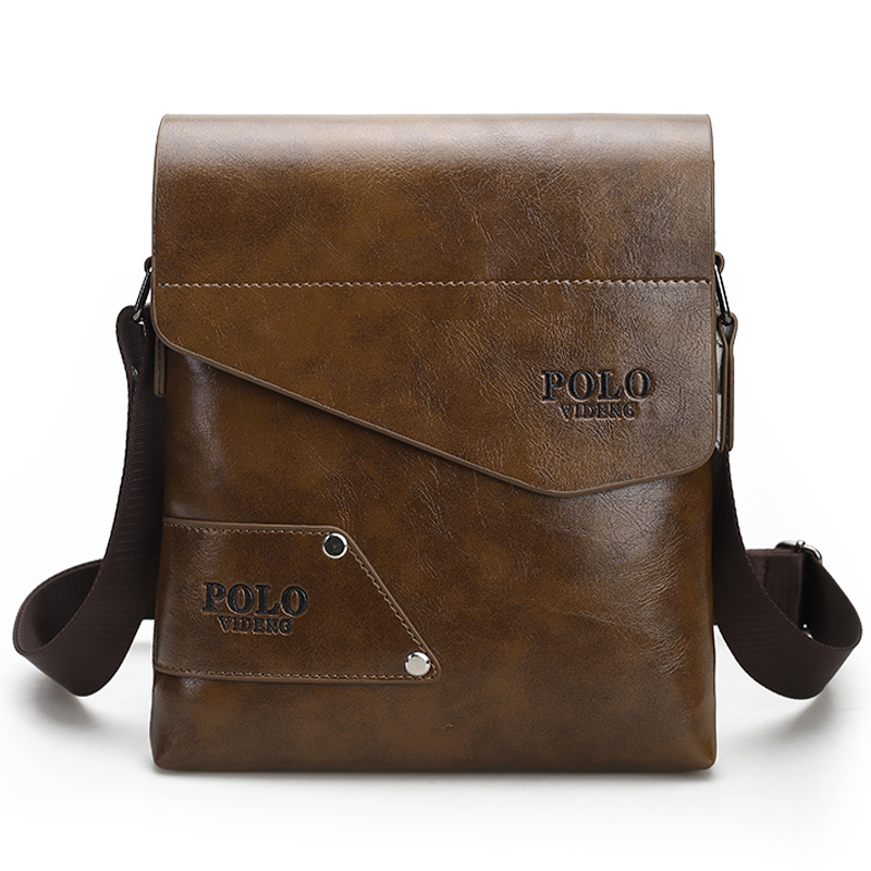Fashion Brand Men's Business Bags PU Leather Man Handbags Men Messenger Bag Quality Men's Travel Bag over His Shoulder VP-17(China (Mainland))