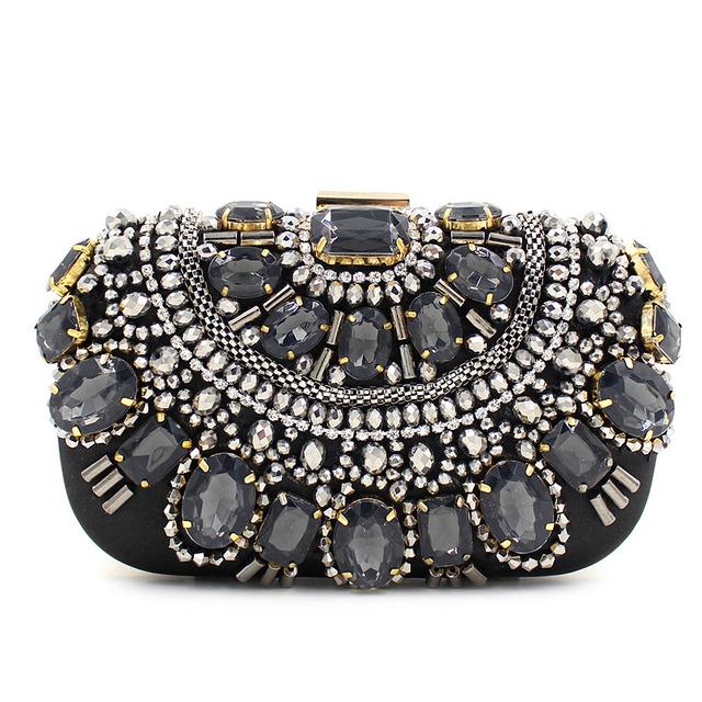 Рекомендуем высокое качество роскошные бисером бриллиантовую свадьбу ну вечеринку клатч вечерняя мини-сумка дамы плеча сумки