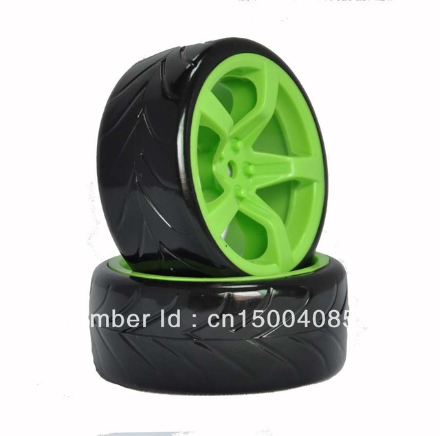 RC 1/10 1:10 Model Car On Road Drift Tyre Tires Wheel