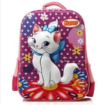 "22 style 16"" Inch 3D Children Cartoon School Bag Ben 10 Cars Princess Cartoon Kids Backpack Gift For Girl Boys Kids Teenage Bags(China (Mainland))"